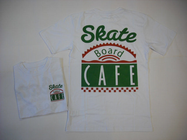 Skateboard Cafe Diner Logo T-Shirt